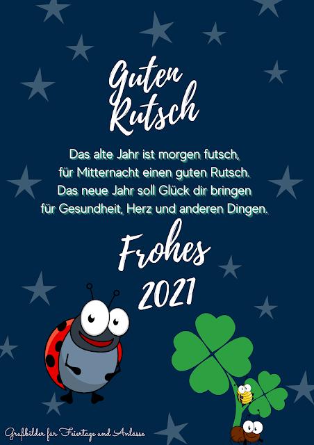 Prost Neujahr 2021