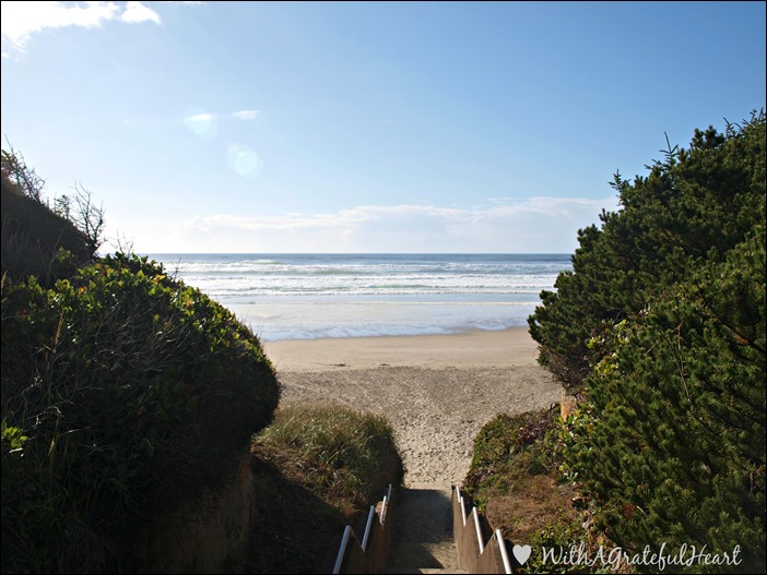 Tillicum Beach - Stairs View
