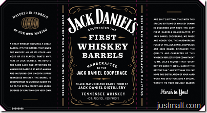 Jack Daniel's Celebrates The First Whiskey Barrels From JD Cooperage