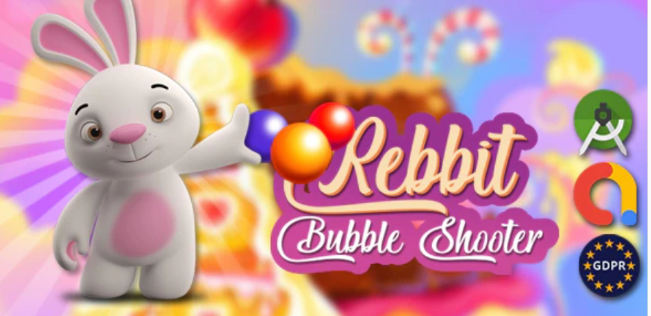 Rabbit Bubble Shooter Game Source Code