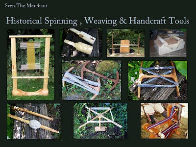 Spinning, Weaving & Hand craft tools