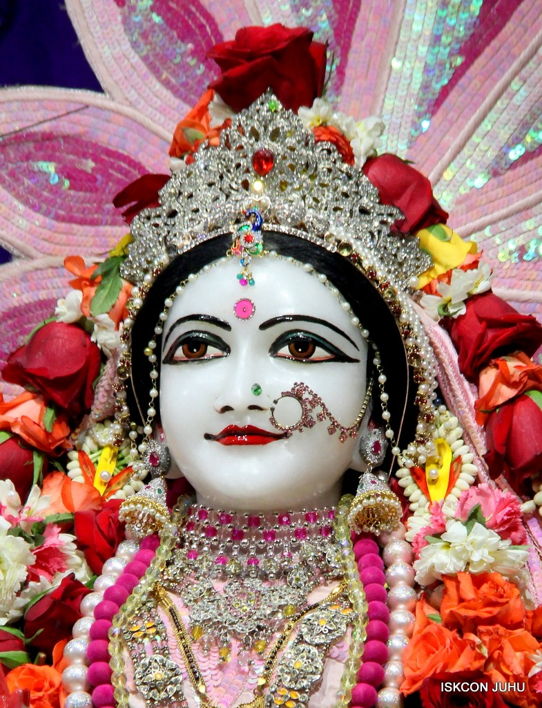 ISKCON Juhu Sringar Deity Darshan 5 Jan 2017 (28)