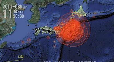 【動画】2011年に日本で起きた地震を可視化。地震の多さに外国人も驚愕