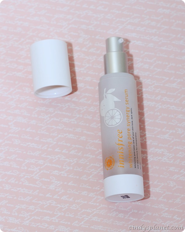 innis free whitening pore serum