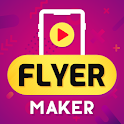 Flyer Maker, Poster Maker With Video Invitation icon