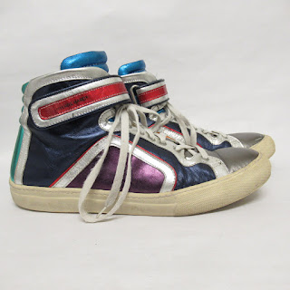 Pierre Hardy Metallic Sneakers