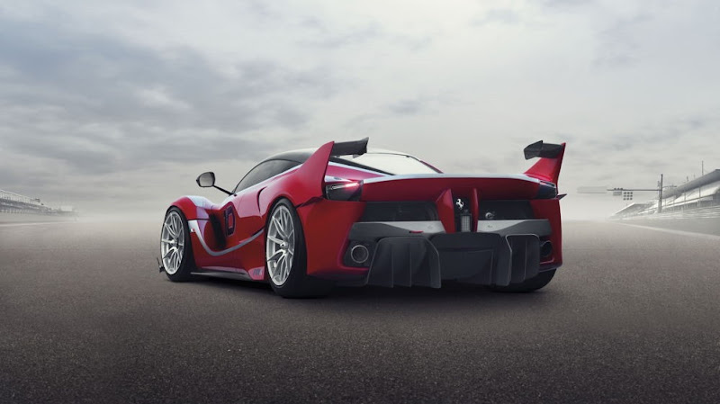 LaFerrari FXX K fabulous design