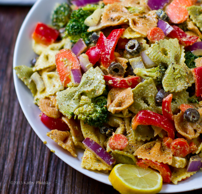 Vegetarian recipes with bow tie pasta