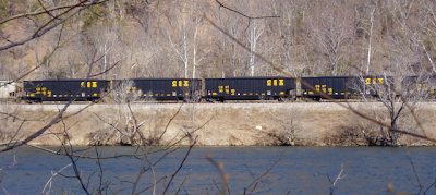 coal route James River