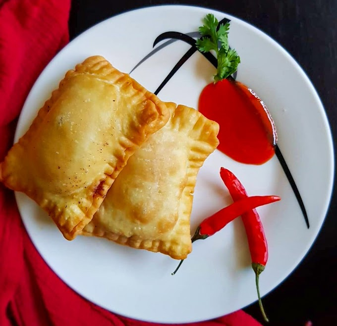 Macdonald's Style Pizza Puff/ Veg Pizza Puff Recipe | Breakfast Care