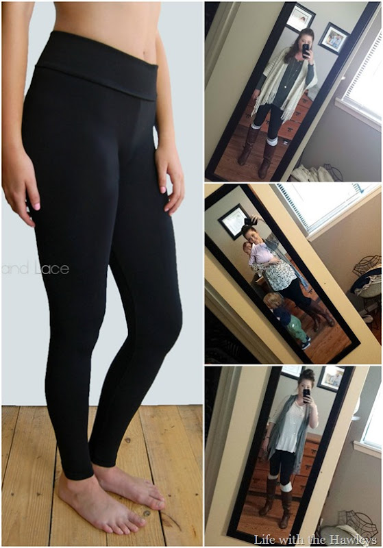 Grace and Lace Leggings Collage