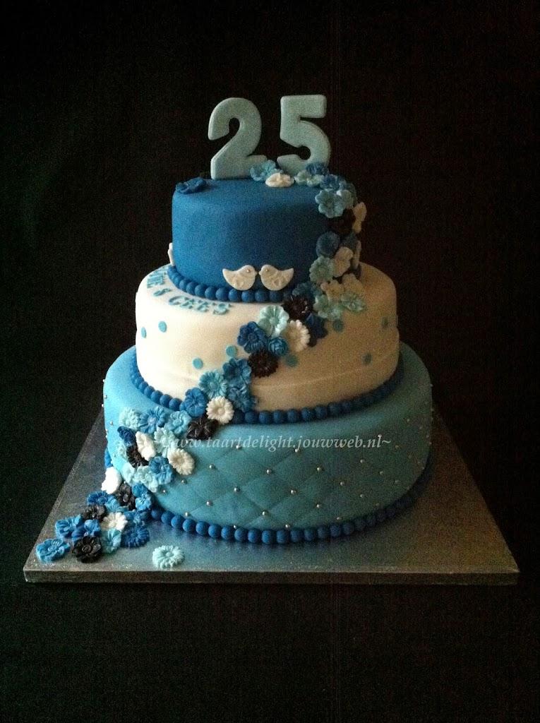 verjaardagstaart 25 jaar