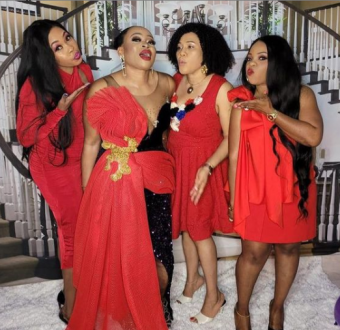 Nigerian Woman Throws Lavish Party To Celebrate Her Divorce