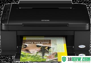 How to Reset Epson SX110 lazer printer – Reset flashing lights error