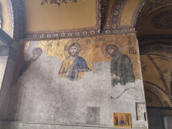 Фрески в соборі св.Софії