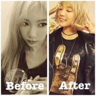 model rambut terbaru taeyeon girl generation