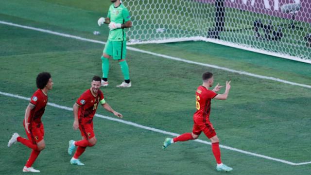 بلجيكا تقضي على البرتغال حاملة اللقب - وتلتقي مع إيطاليا في ربع النهائي