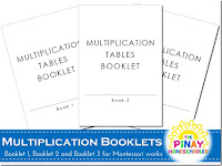 FREE Multiplication Booklets