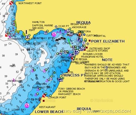 Port Elizabeth - Bequia - Grenadine