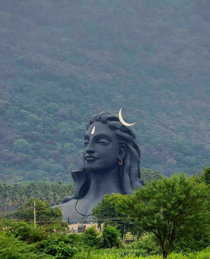 Adiyogi Shiva Statue, Coimbatore, Tamilnadu