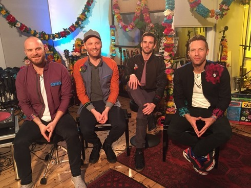 Coldplay Facebook Livestream