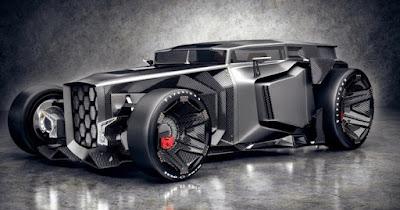Lamborghini Rat-Rod concept