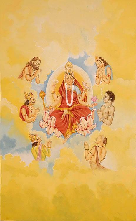 Maa Siddhidatri – The Ninth Aspect of Goddess Durga