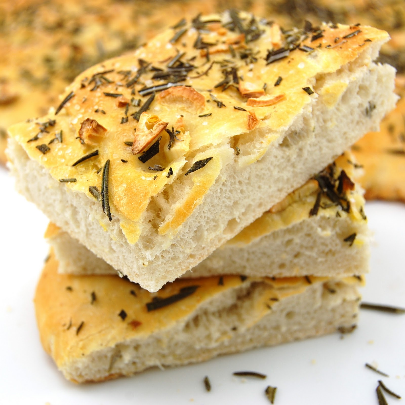 Mikelles Meals: Rosemary Focaccia Bread