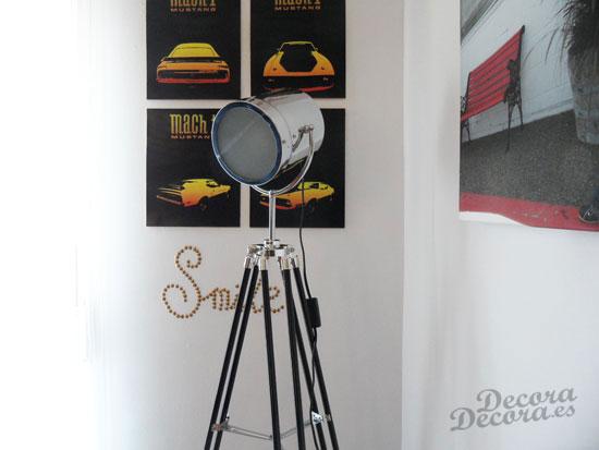 Lámpara Maisons du Monde.