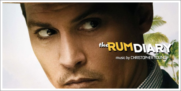 The Rum diary (Soundtrack) by Christopher Young - Review