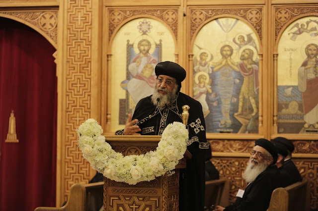 His Holiness Pope Tawadros II visit to St. Mark LA - _09A9202.JPG