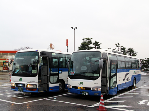 JRバス東北「仙台・新宿3号」 1154 国見SAにて その2