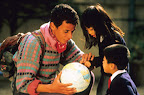 Jeunes enfants de Kobe, rencontrés dans leur école, au Japon