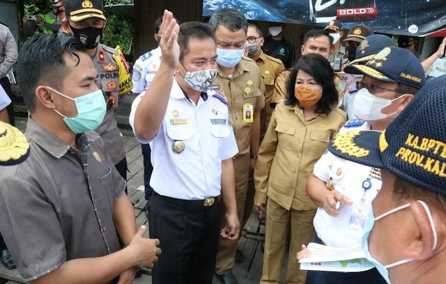 Ketua DPRD Dampingi Kemenhub Tinjau Pelabuhan Penyebarangan