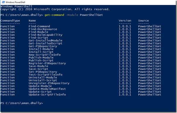 AmanDhally - PowerShell