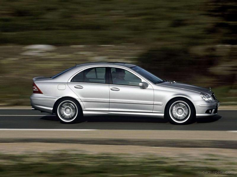 2006 mercedes benz c class c55 amg specifications for Mercedes benz 2006 models