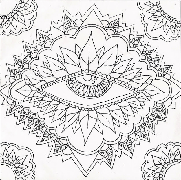 These Beautiful Coloring Pages Will Reflect The Real Colors Of Your Soul  Just Take Pens And Let Your Heart Express Itself