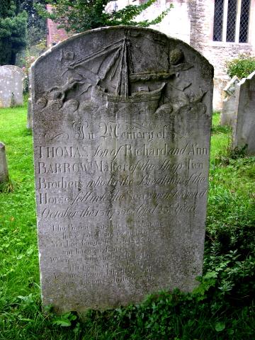 sailors gravestone bosh