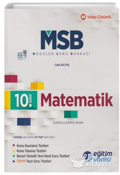 10. Sınıf Matematik Güncel MSB Modüler Soru Bankası Eğitim Vadisi
