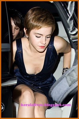 Hollywood Young Hot Emma Watson Showing Sexy Thighs and Panties in Public   KeralaLives