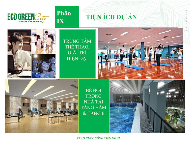 tiện ích eco green city