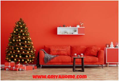Cat Rumah Bagian Dalam Berwarna Merah