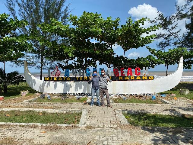 Support Pariwisata Kalsel, 4G Telkomsel Perkuat Jaringan di Pantai Angsana