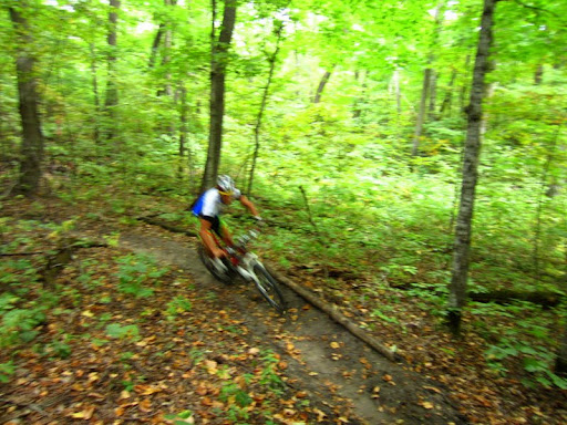 Berm action on Twin lakes singletrack