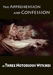 Cover of Anonymous's Book The Apprehension and Confession of Three Notorious Witches