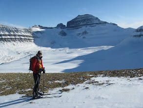 Photo: Rafal and Mt. Saskatchewan.