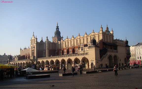 Cracovie la halle aux draps