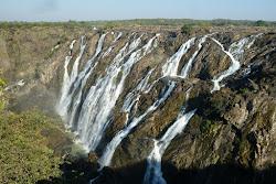Ruacana Falls frontière avec L'Angola