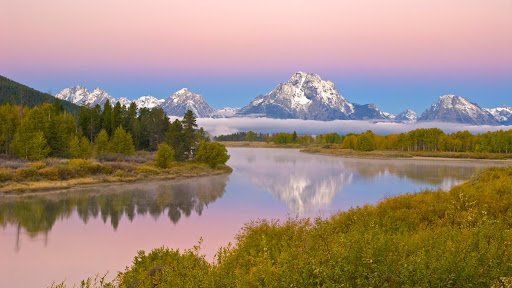 Oxbow Bend of the Snake River and Mount Moran, Grand Teton National Park, Wyoming.jpg