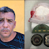 Operação da 25 CIPM e Policia Civil, resulta na prisão de traficante de drogas em Remanso.